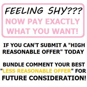 DETAILS INSIDE: Shy? Send a note! Pay What You Can